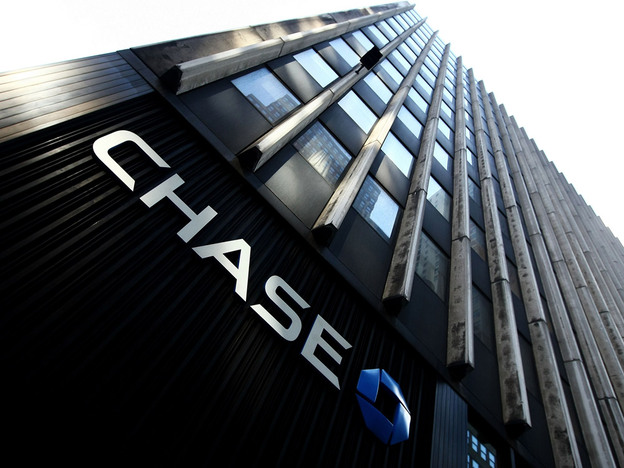 A branch of Chase bank in New York City. JPMorgan Chase reported $11.7 billion  in earnings in 2009, more than double its revenue from 2008.