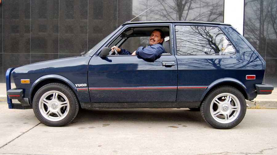 How Do You Make A Yugo Cool Turn It Into A Book NPR - Make a cool car