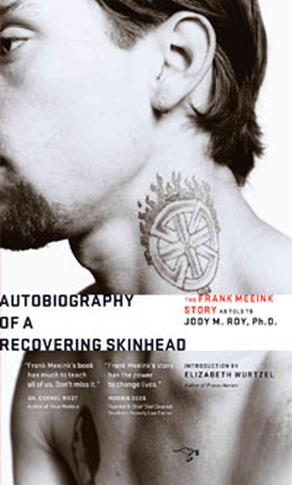 Autobiography of a Recovering Skinhead: Cover detail