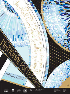 National Poetry Month 2010 official Poster