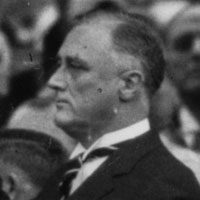 Franklin Roosevelt and Chief Justice Charles E. Hughes