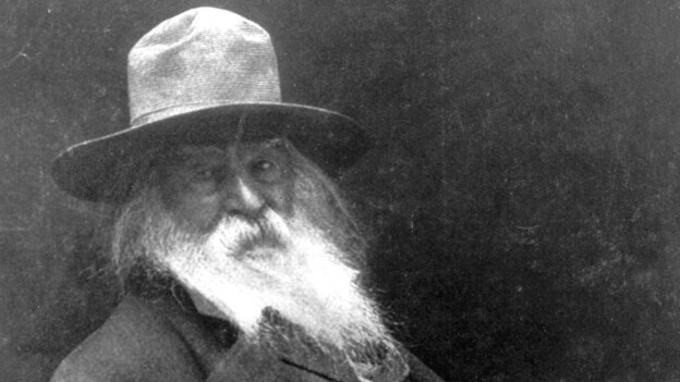 Song of Myself was included in Walt Whitman's major work, Leaves of Grass. Whitman paid for the publication of the first edition himself. (Getty Images)