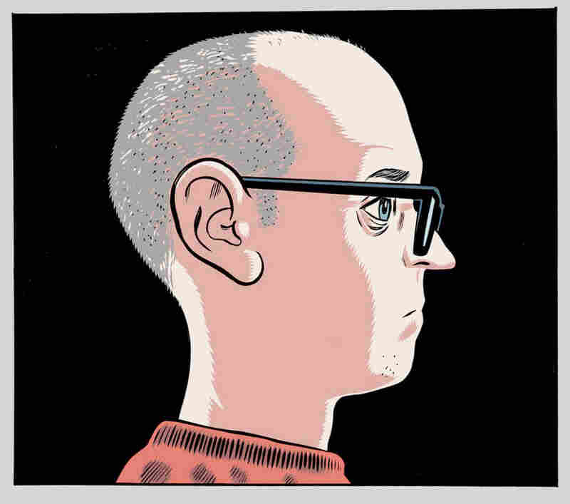 Daniel Clowes self-portrait