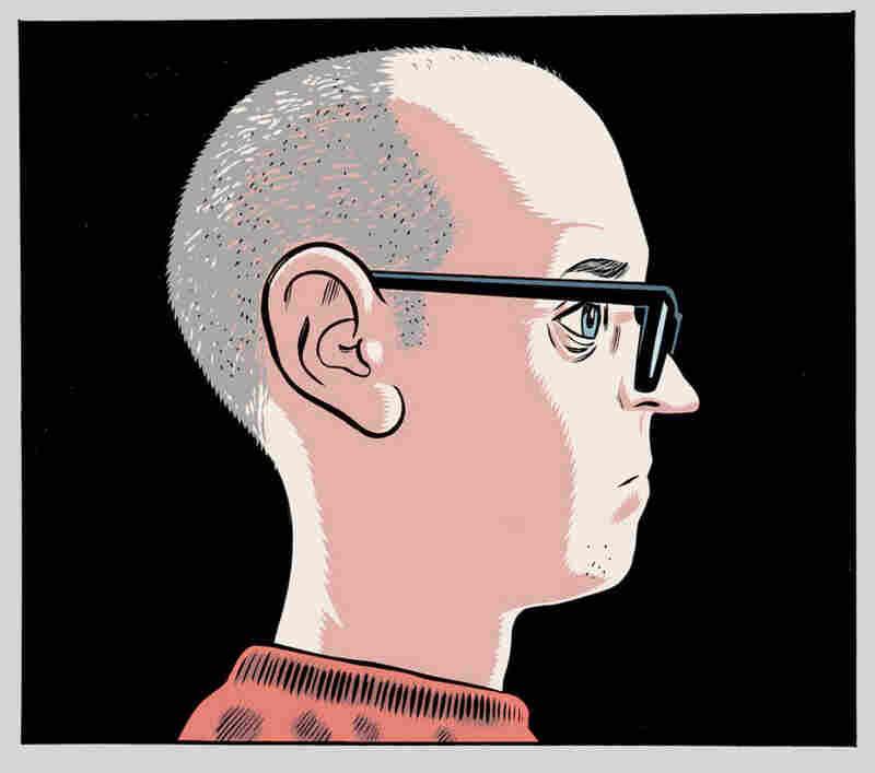 Daniel Clowes self-portrait