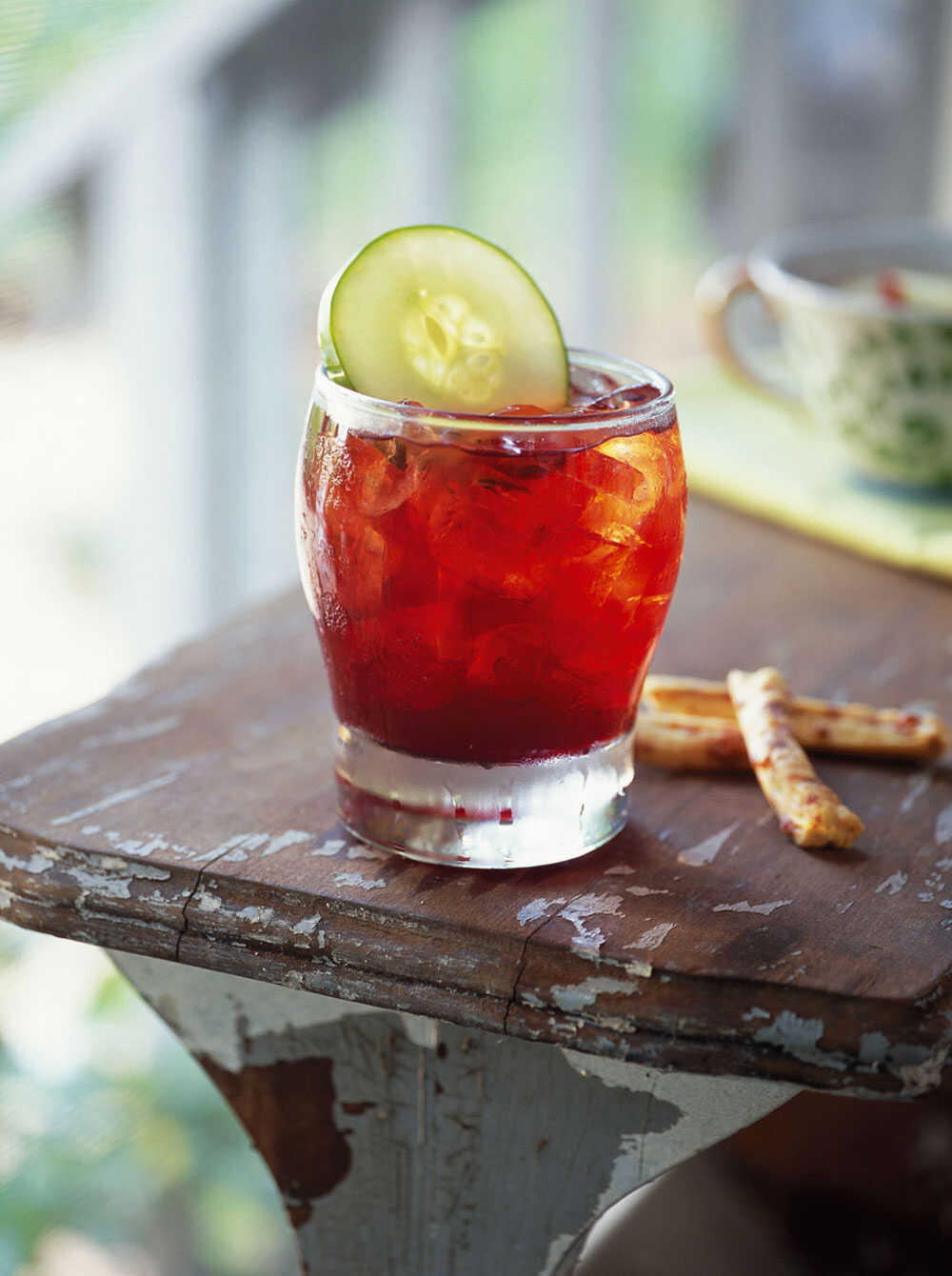 Pomegranate Pimm's Cup
