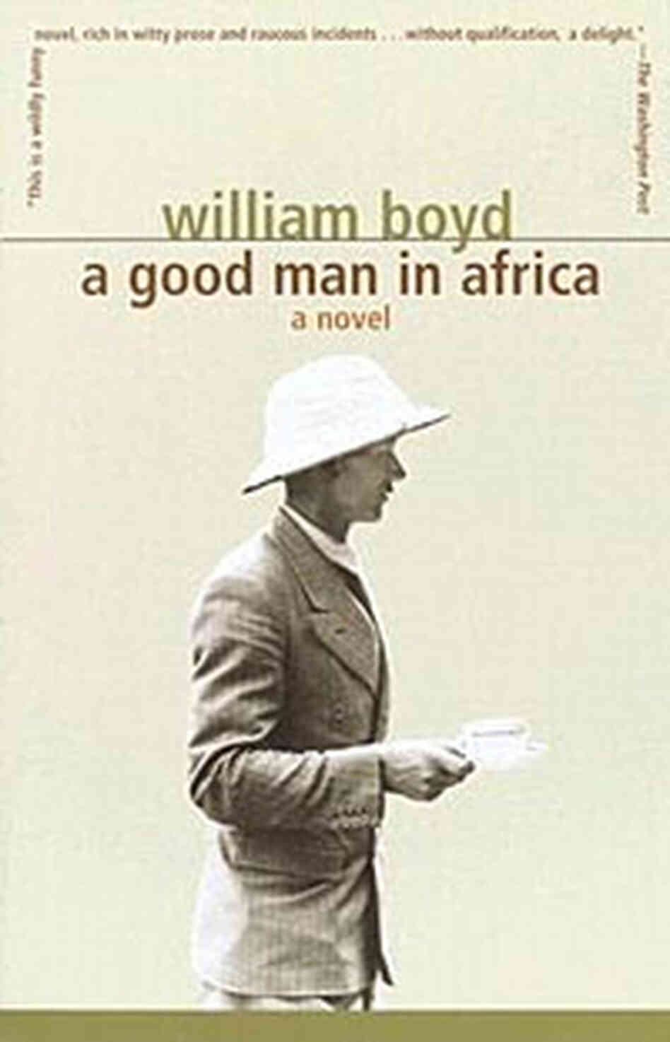 'A Good Man in Africa' book cover