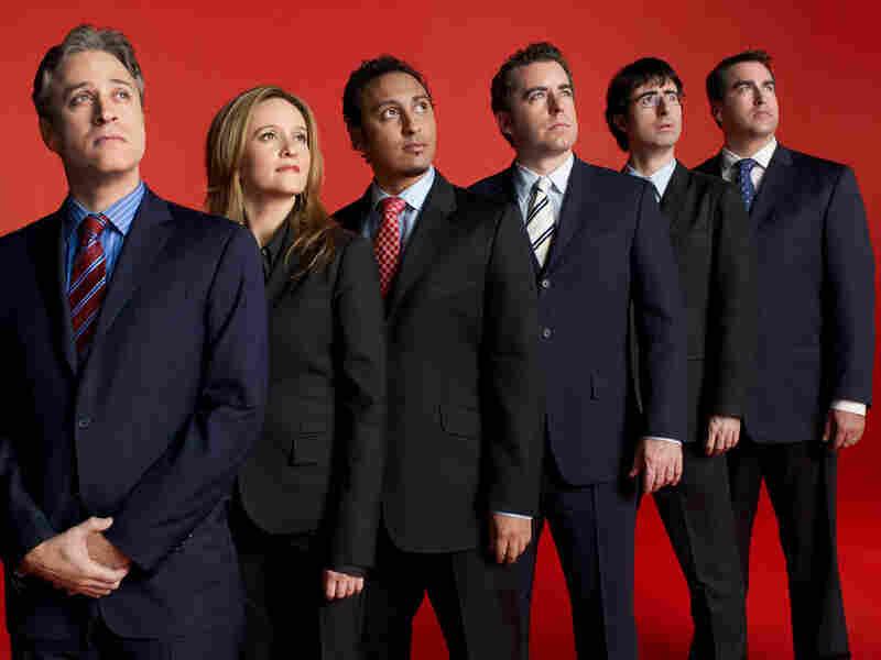 Jon Stewart, Samantha Bee, Aasif Mandvi, Jason Jones, John Oliver, Rob Riggle