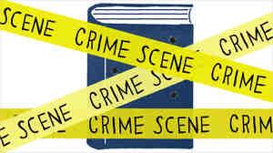 Illustration: Book behind crime scene tape.