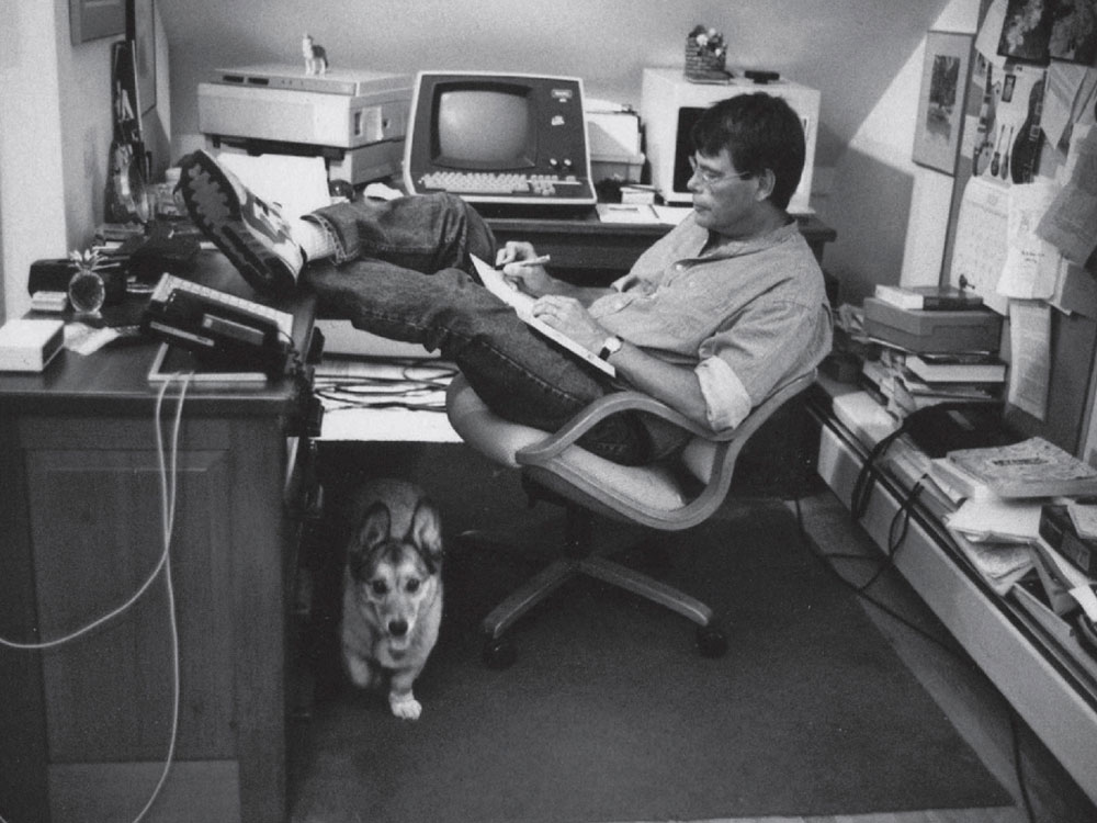 Stephen King's office
