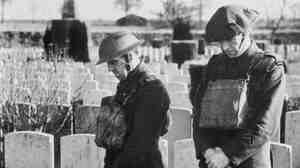 Soldiers on Armistice Day