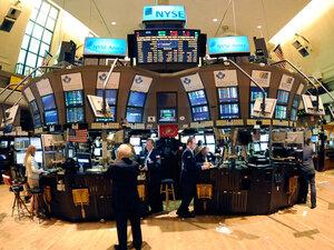 Trading on the New York Stock Exchange