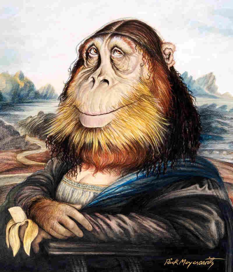 The Mona Gorilla, March 1971 by Rick Meyerowitz
