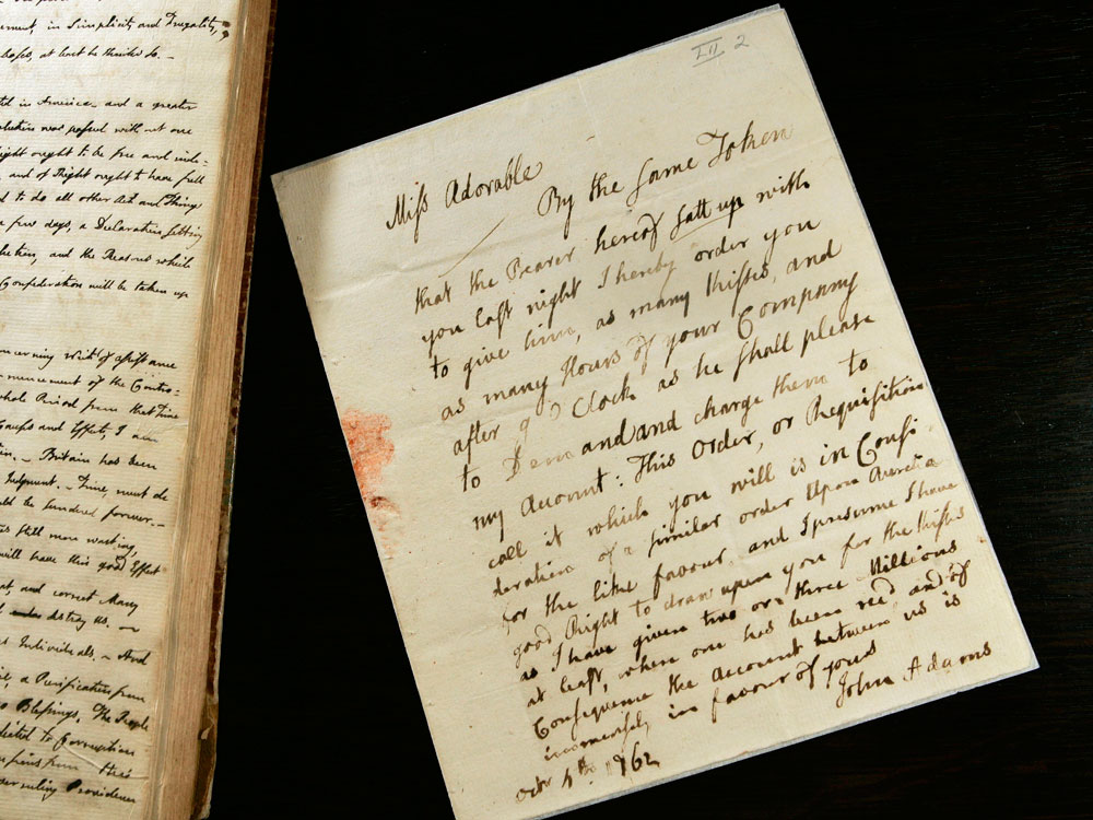 What About Abigail S Letters To John Make