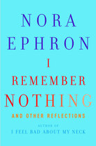 'I Remember Nothing' book cover