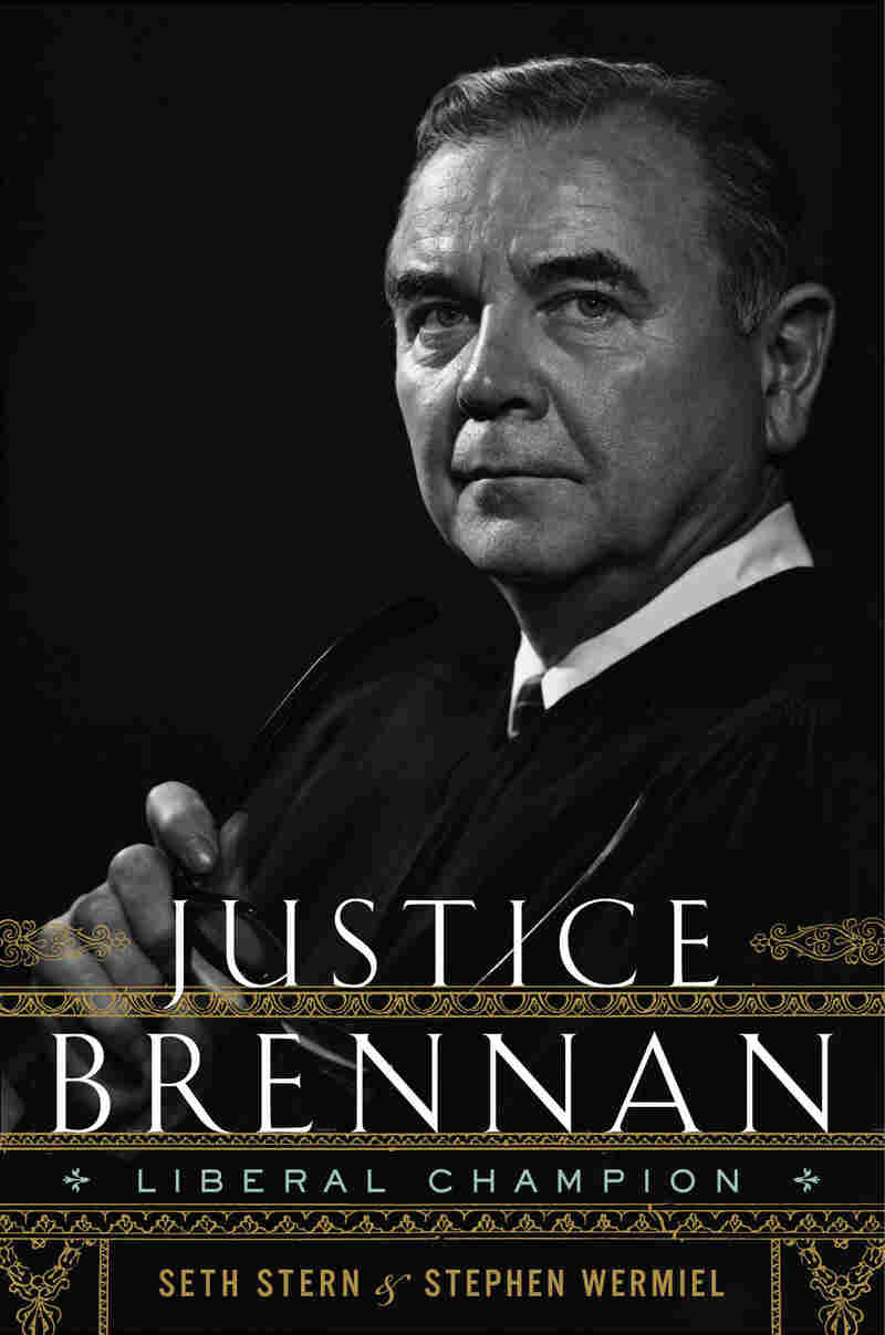 """Cover of """"Justice Brennan: Liberal Champion."""""""