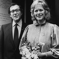 Harold Pinter and Antonia Fraser