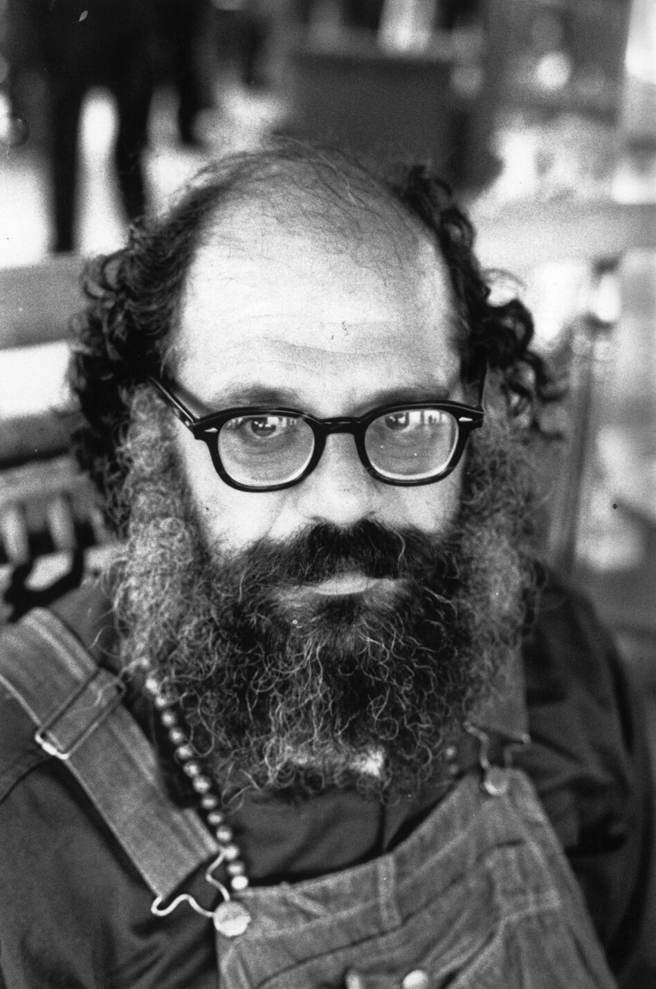 "Beat poet Allen Ginsberg, pictured above in 1973, first published ""Howl"" in 1956<em>.</em>"