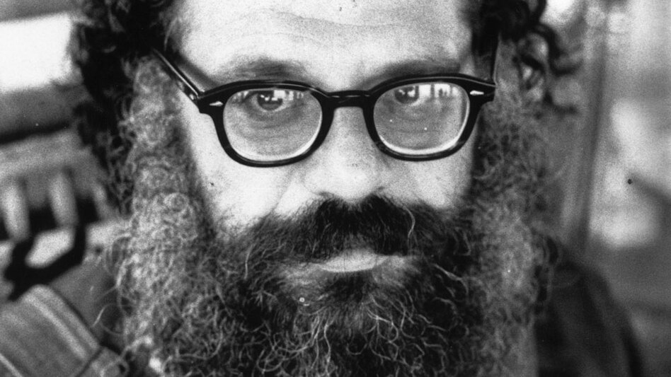 "Beat poet Allen Ginsberg, pictured above in 1973, first published ""Howl"" in 1956. (Getty Images)"