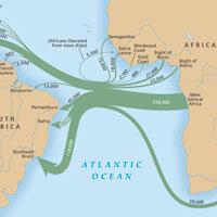 Trans-Atlantic Journeys Traced In Slave Trade Atlas : NPR