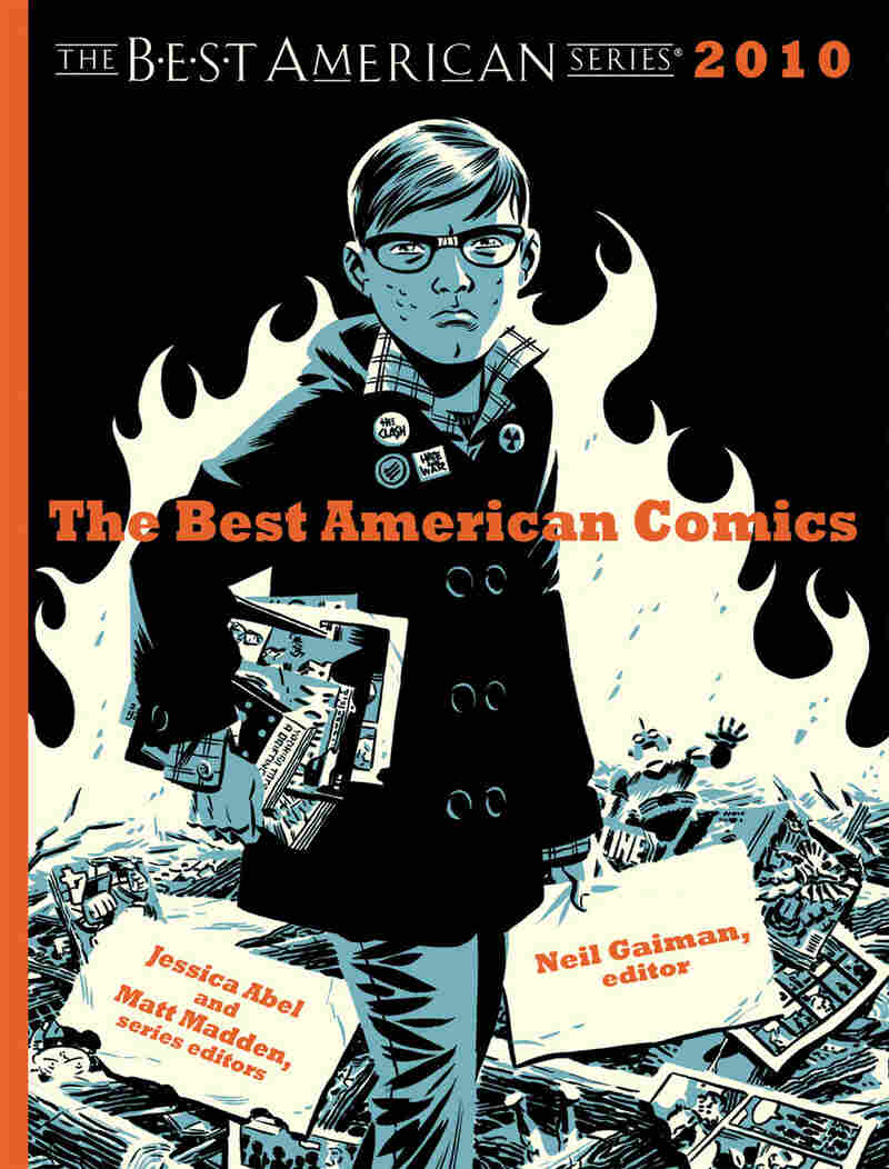 Cover of 'The Best American Comics 2010'