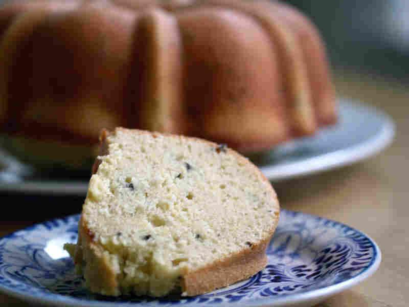 Lavender-Lemon Tea Cake