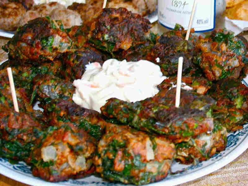 Chard Fritters With Cinnamon