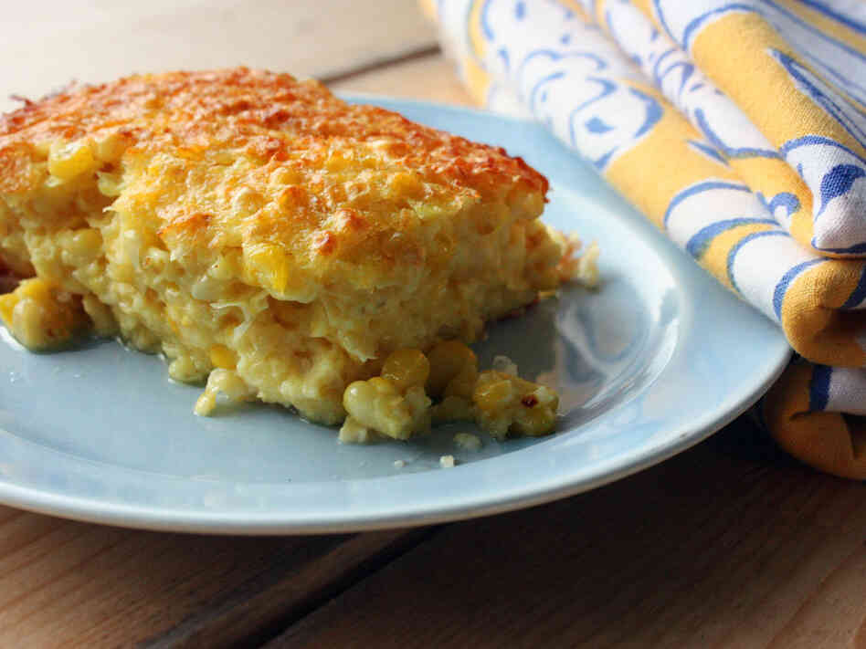 Hatch Chile Corn Pudding Recipe — Dishmaps