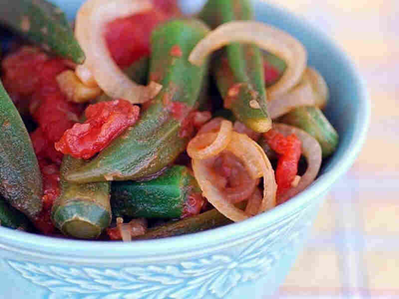 Okra And Stewed Tomatoes