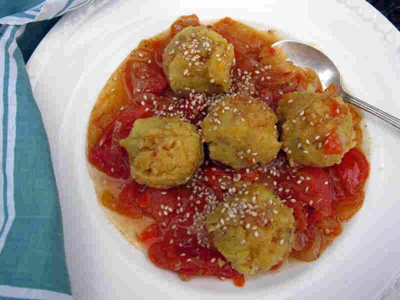 Fufu Con Sofrito De Ajonjoli (Fufu With Sesame Sofrito)