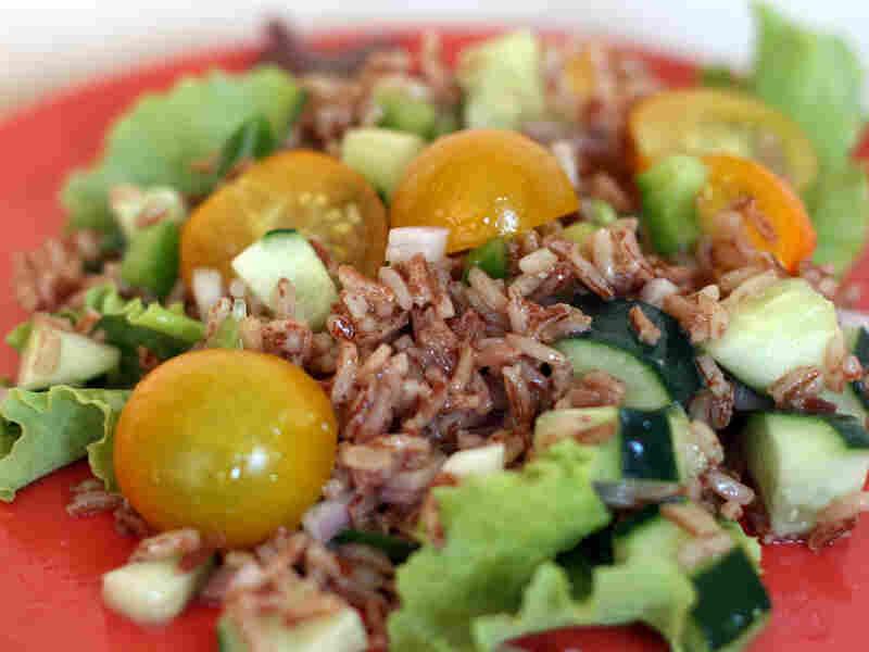 Harvest Red Rice Salad