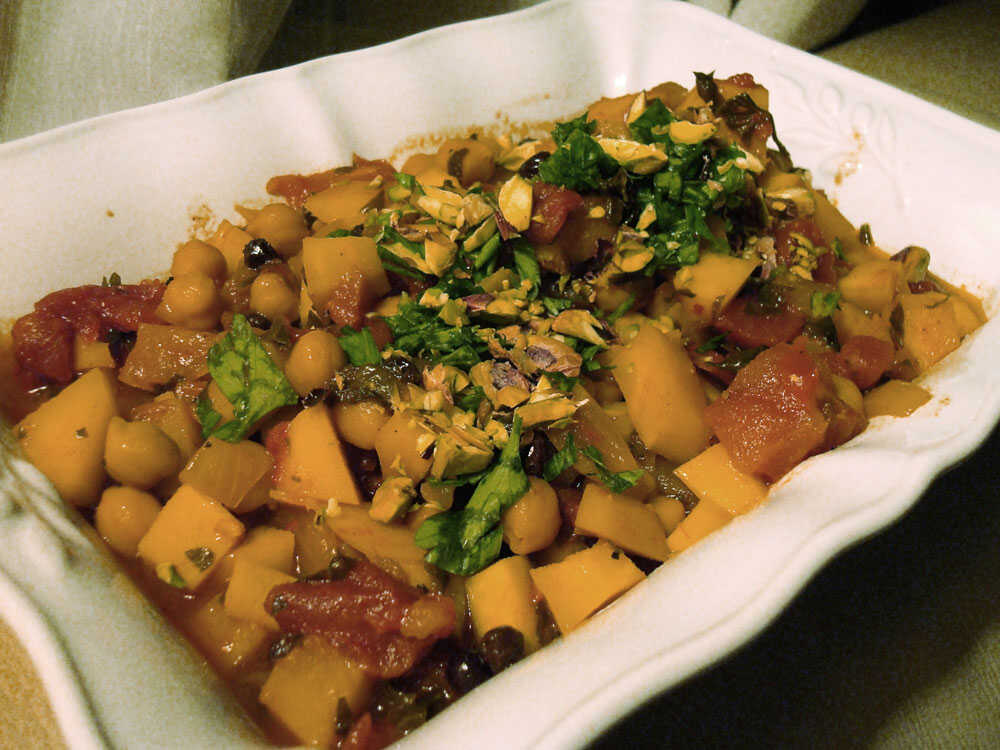 Vegetarian Quince And Parsnip Medley