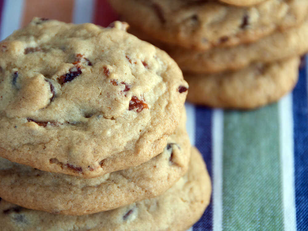 Chocolate Chip-Bacon-Pecan Cookies (thick)