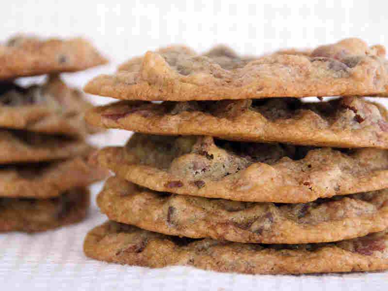 Chocolate Chip-Bacon-Pecan Cookies