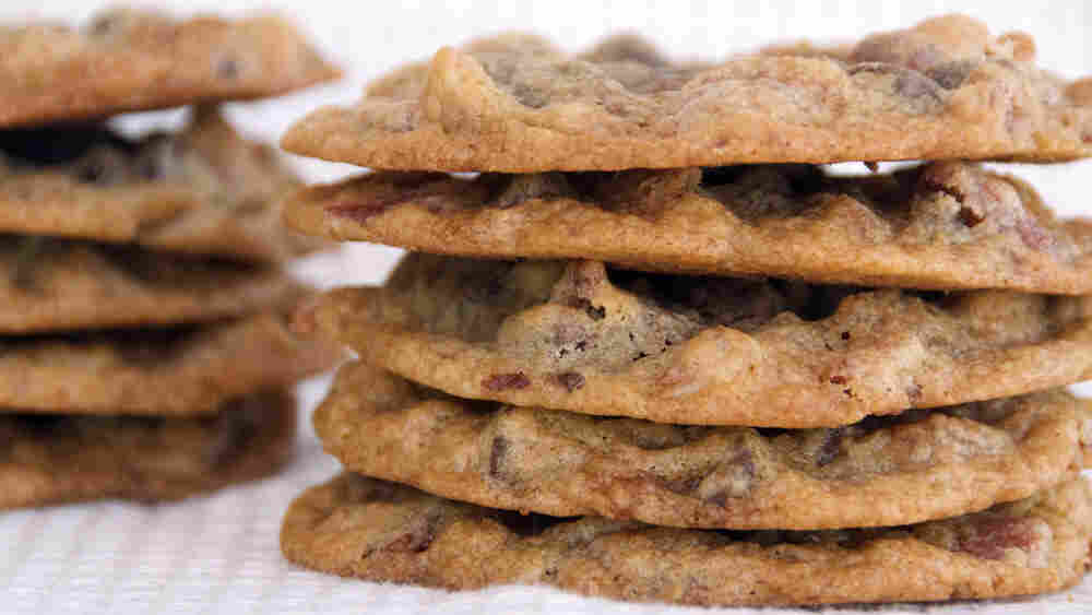 Chocolate Chip, Bacon And Pecan Cookies (thin)