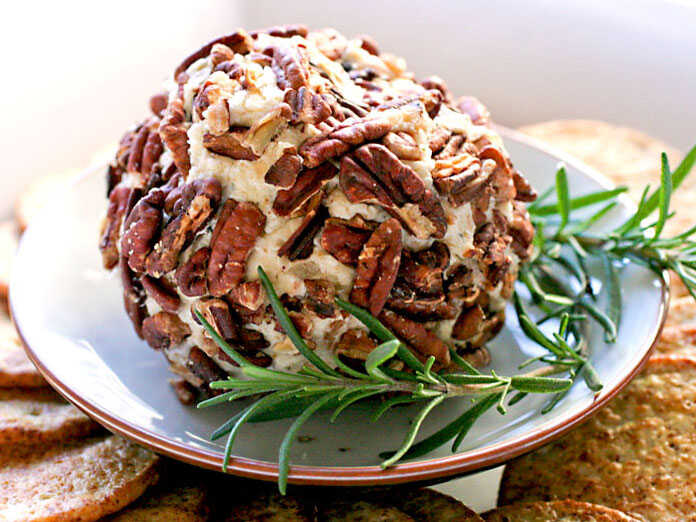 Farmhouse Cheddar Cheese Balls With Pecans And Bourbon