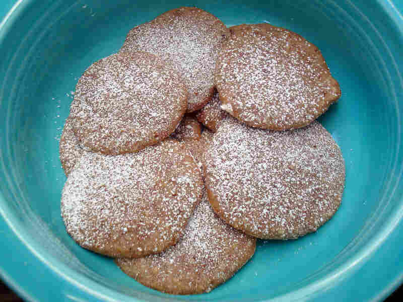 Chewy Chestnut Cookies