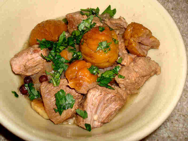 Slow Cooker Lamb With Chestnuts