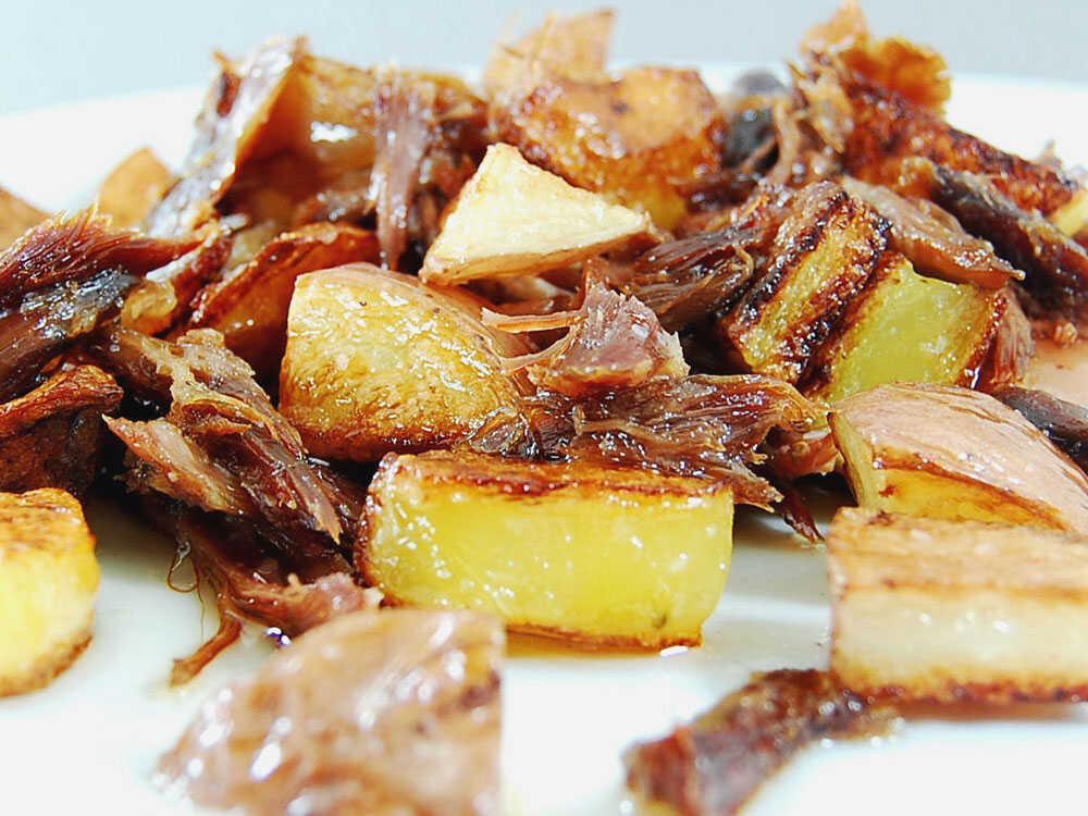 Duck Potatoes