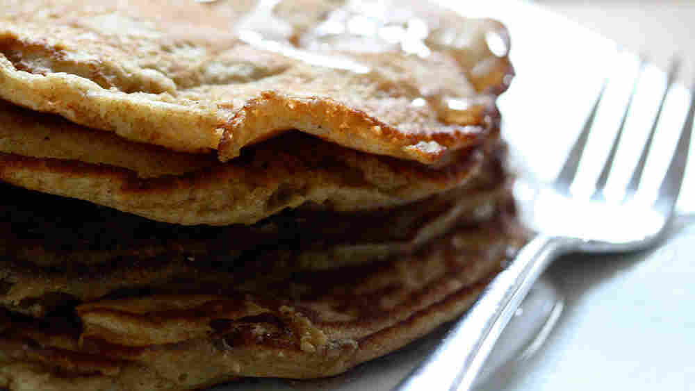 w-Whole-Grain Pancakes