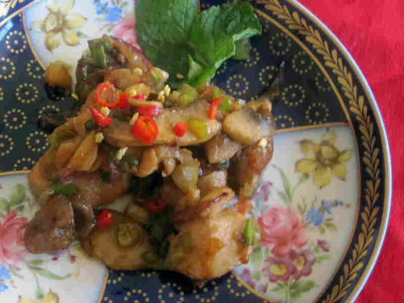 Sizzling Chicken With Ginger