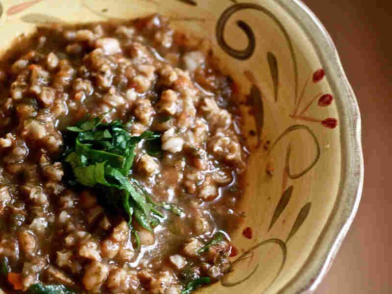Tuscan Farro And Bean Soup (Minestra Di Farro)