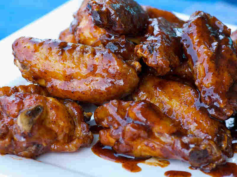 Maple-Beer-Chili Chicken Wings