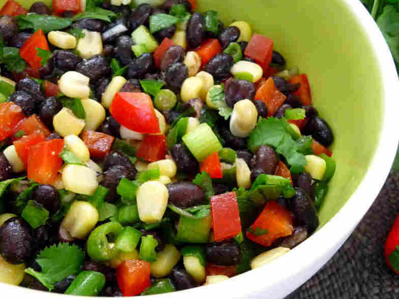 Black Bean And Corn Salsa With Cilantro