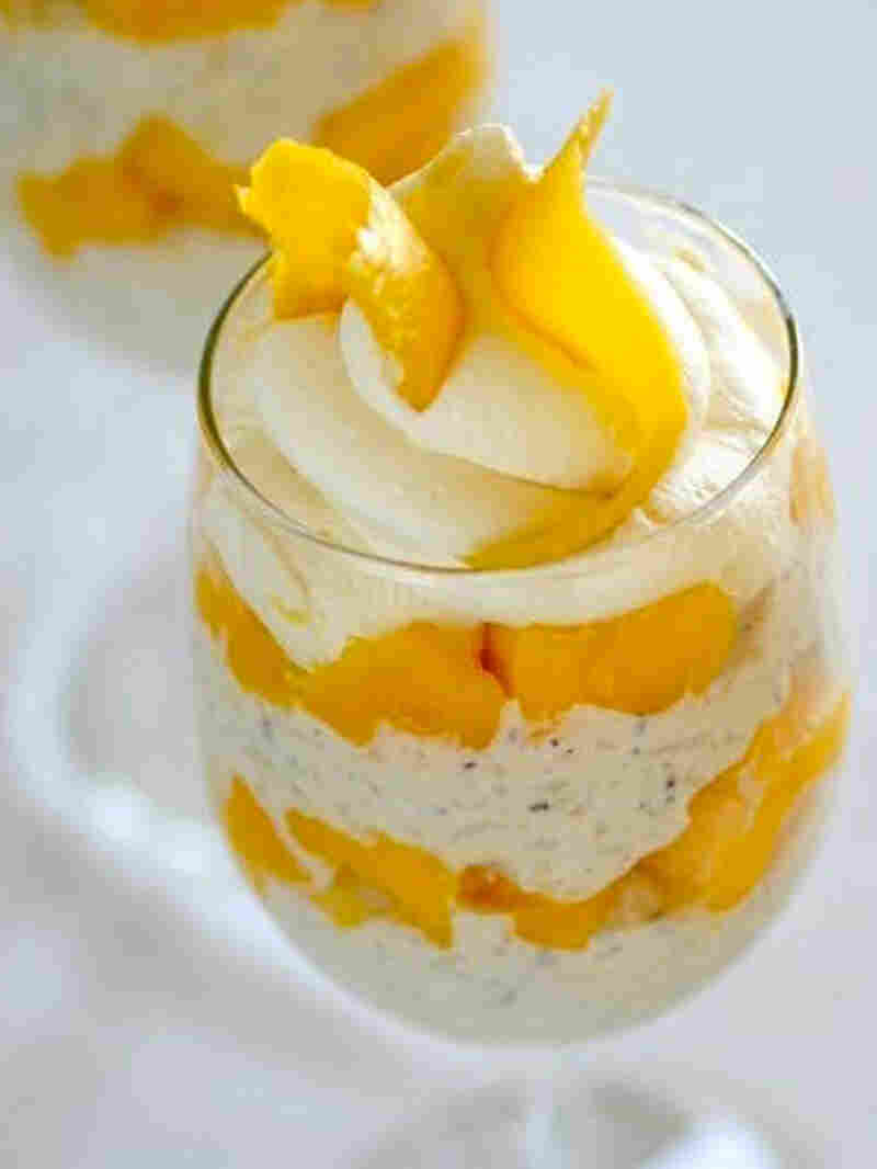 Rice Pudding And Mango Parfait