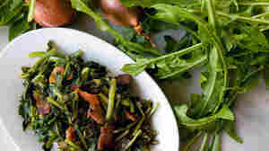 Dandelion Greens With Bacon And Sherry Vinegar