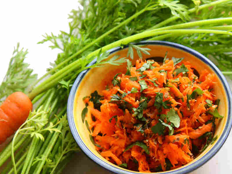 Carrot Salad With Green Chili And Cilantro
