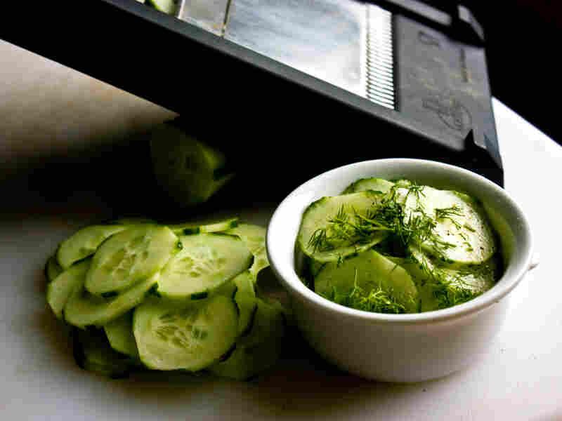 Marinated Sliced Cucumber Salad