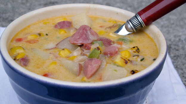 Ham and Corn Chowder