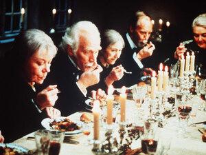A scene from 'Babette's Feast'