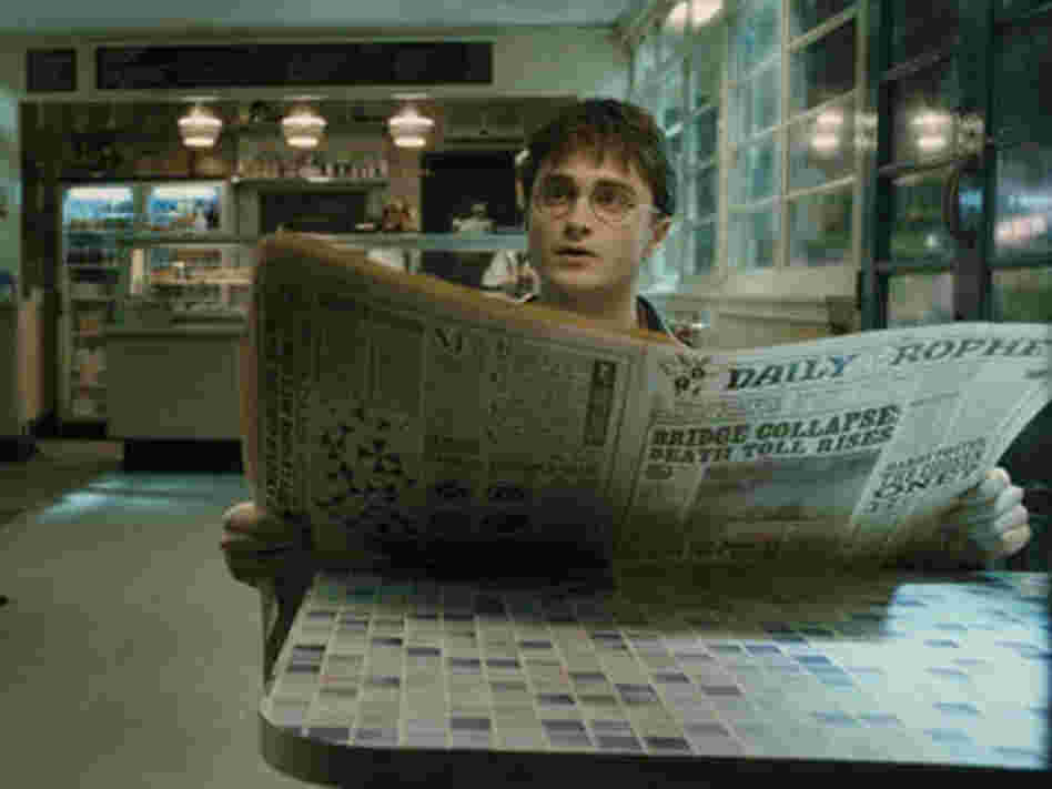 Daniel Radcliffe in 'Harry Potter'